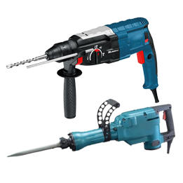 Demolition & Rotary Hammers