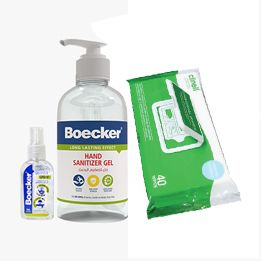 Hand Sanitisers & Wipes